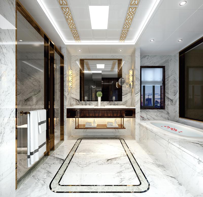 現代風格浴室吊頂