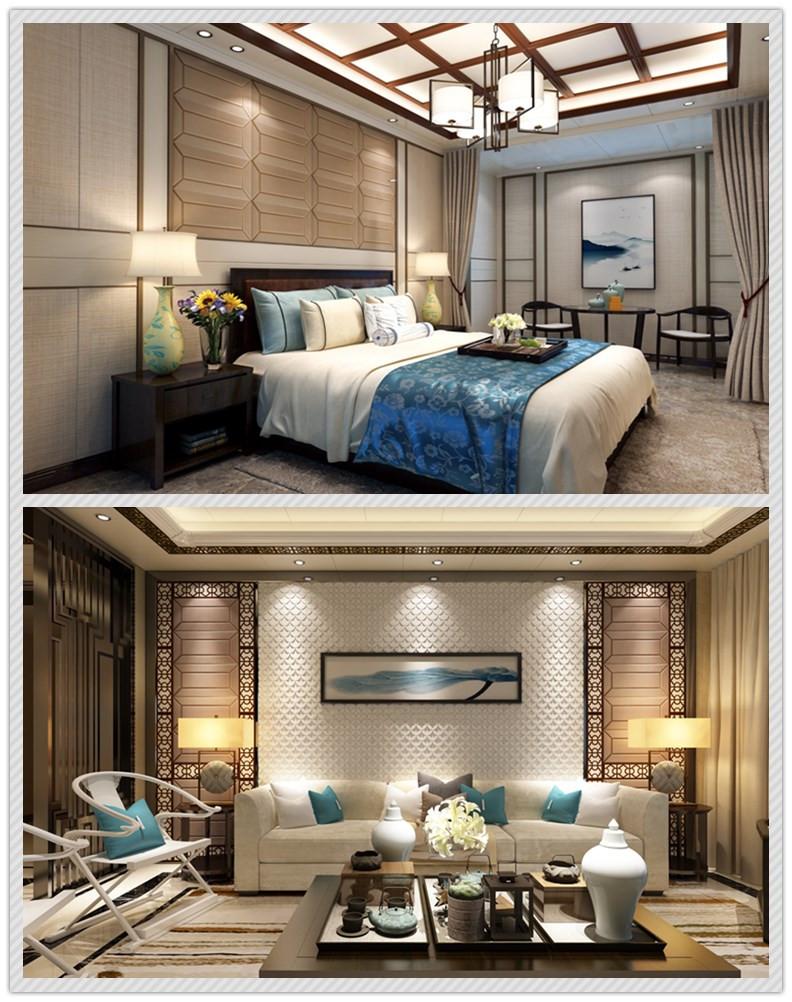中式風格客廳吊頂臥室吊頂