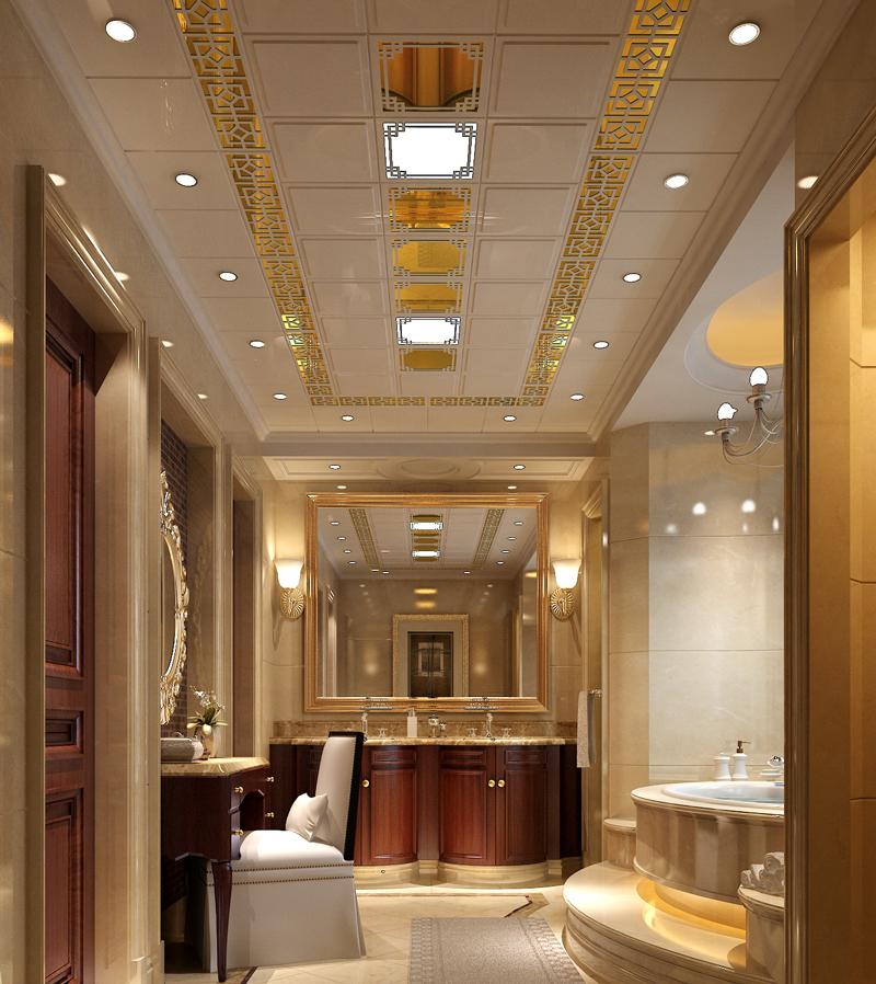 圓角方浴室吊頂