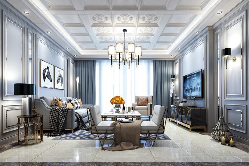 欧式风格客厅、尊享纪元