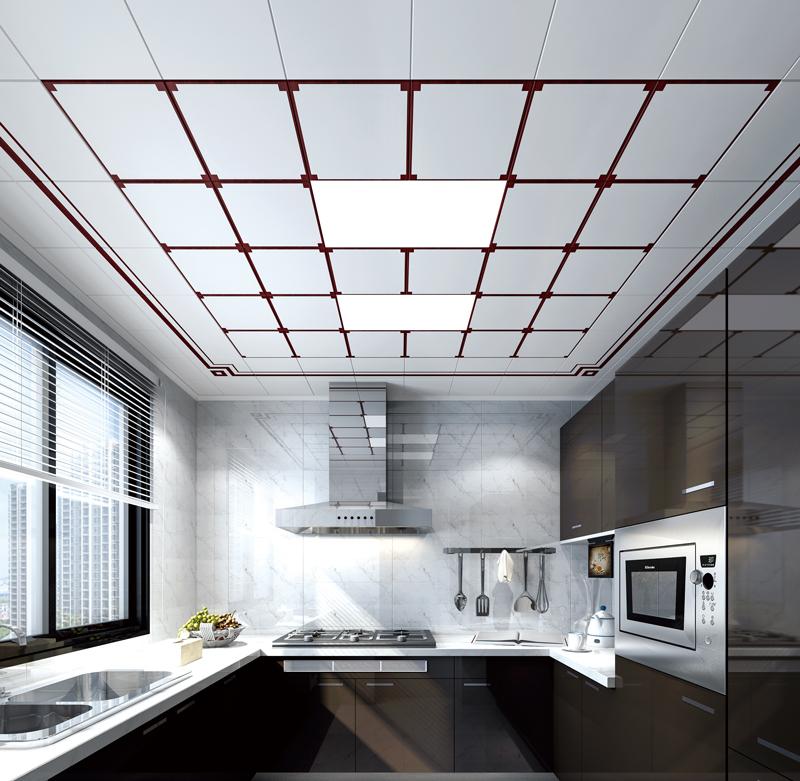中式吊頂--平板LED燈
