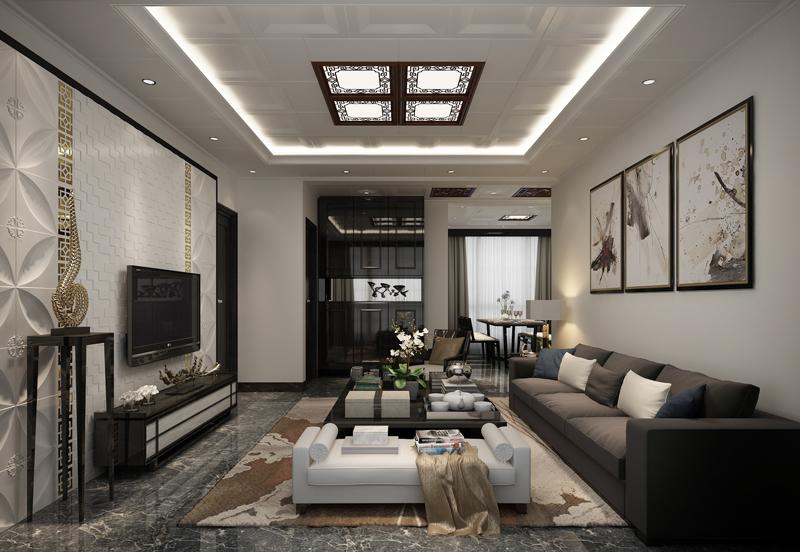 中式吊頂--福至LED造型燈